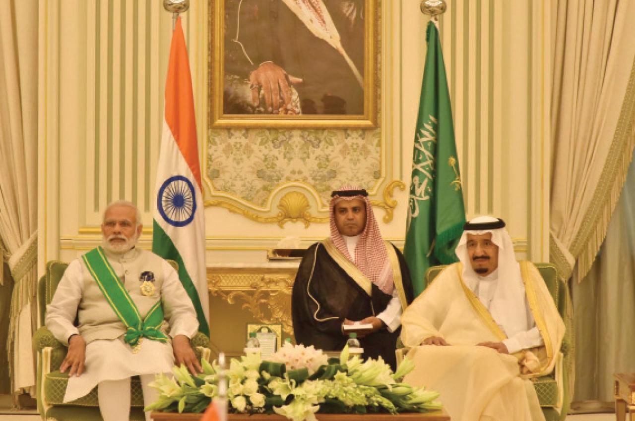 The Prime Minister, Shri Narendra Modi at the signing of agreements between India and the Kingdom of Saudi Arabia, in Riyadh, Saudi Arabia on April 03, 2016.