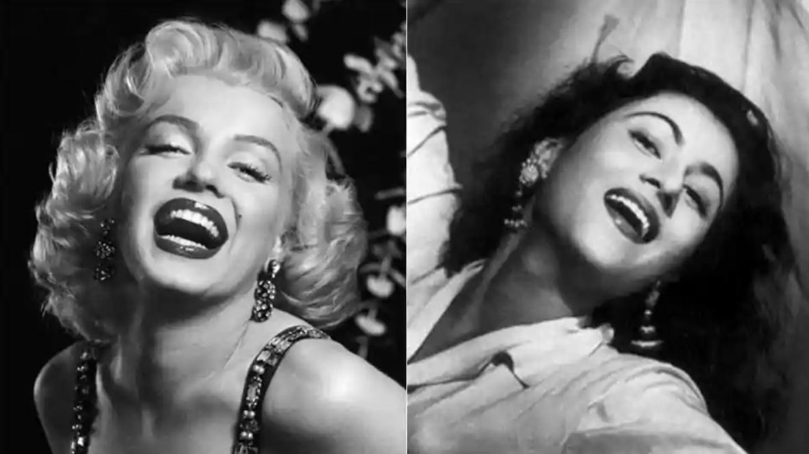 Madhubala was seen as Bollywood's Marilyn Monroe