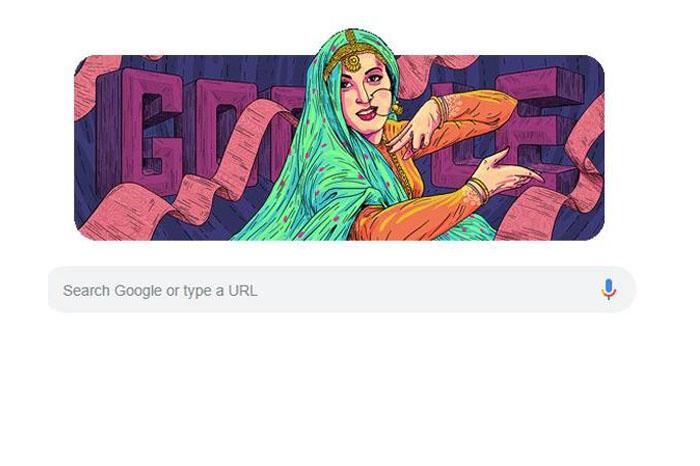 Google doodle honours Indian actress Madhubala