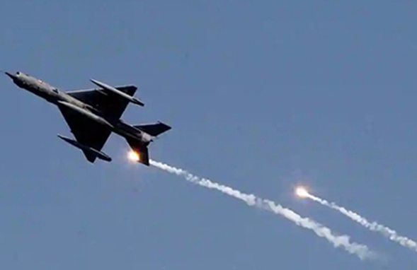 Indian Air Force claims air strikes on JeM camp in Balakot of Pakistan occupied Jammu & Kashmir.