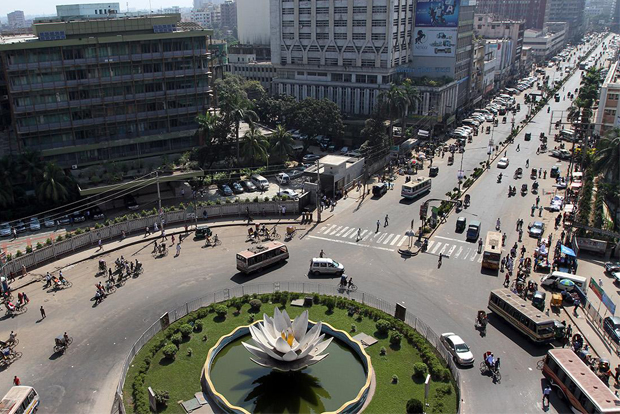 Bangladeshi capital city of Dhaka
