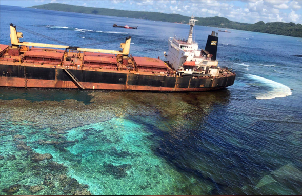 Oil spill near UNESCO world heritage site, East Rennell is now emerging as major threat to the ecosystem and the people of Rennell Island