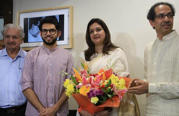 Priyanka Chaturvedi quits Congress