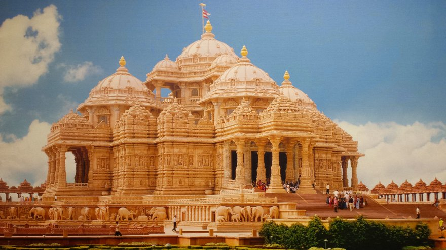 First Hindu temple in UAE