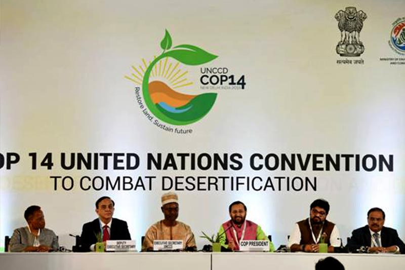 UN Conference on Desertification Commences in New Delhi