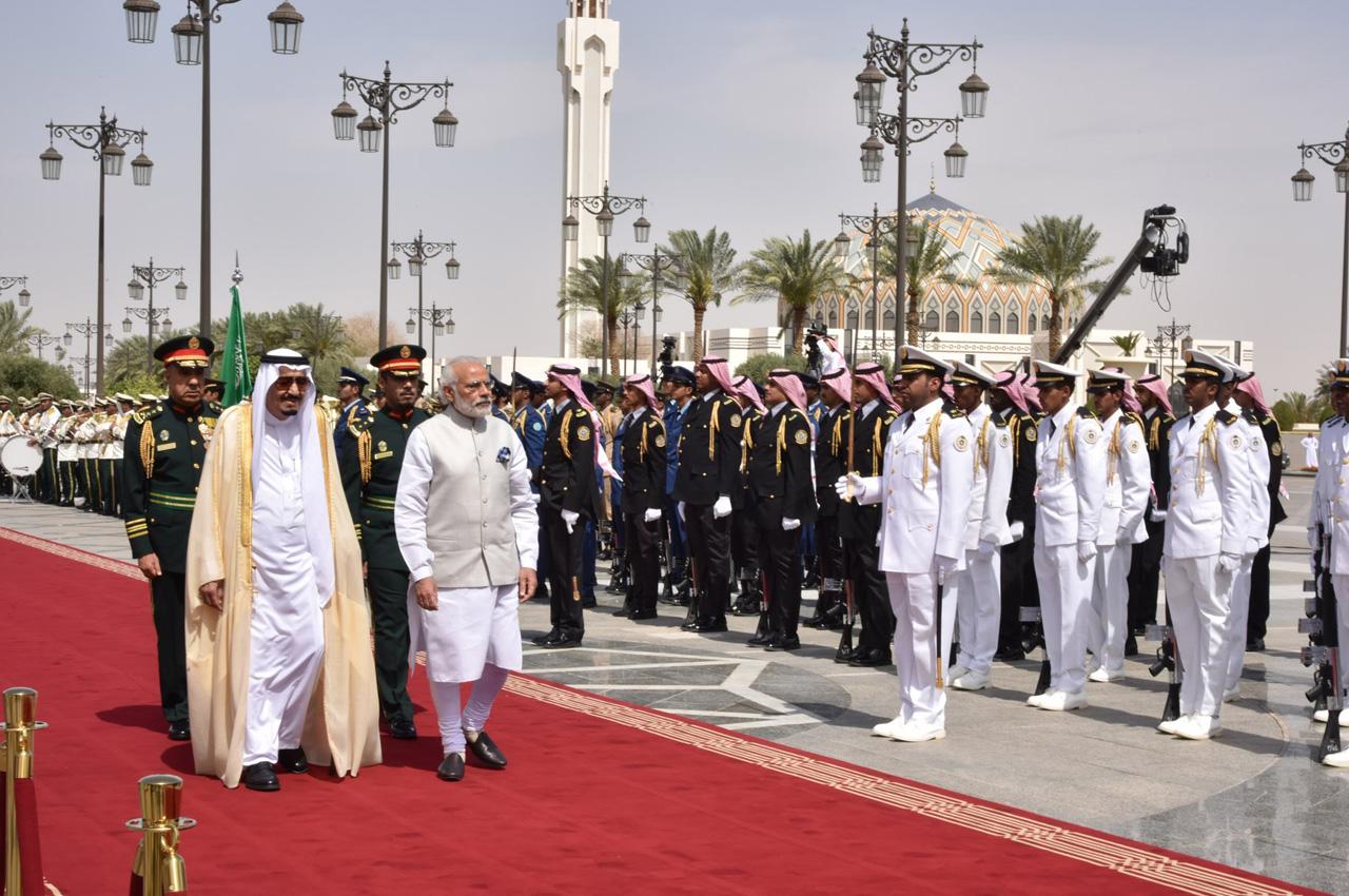 Modi in Saudi Arabia