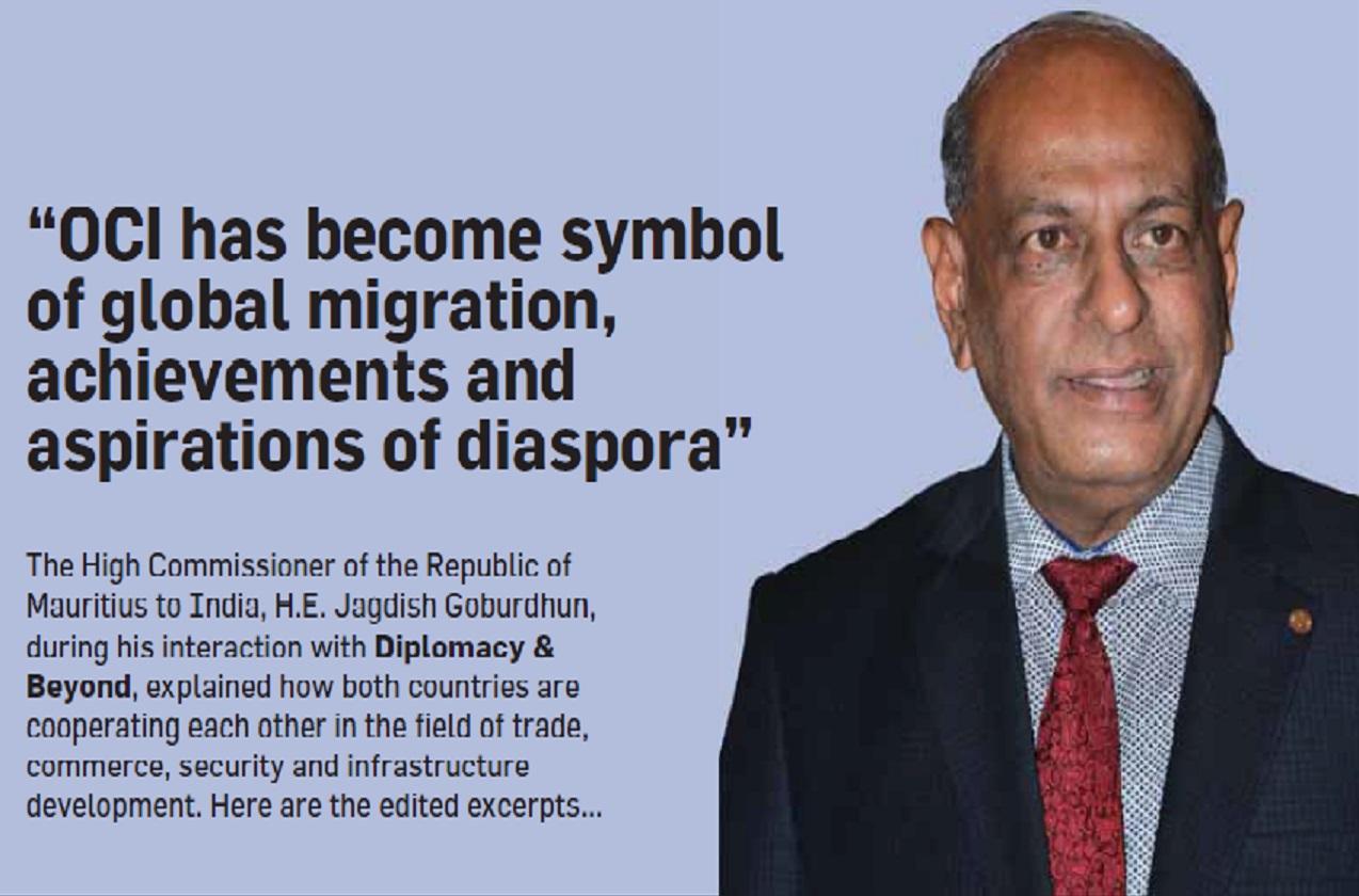 The High Commissioner of the Republic of Mauritius to India, H.E. Jagdish Goburdhun