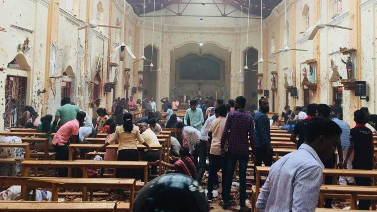 Blasts in Sri lanka