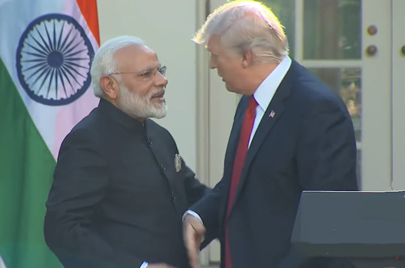 US President Donald Trump will visit India on February 24 and 25