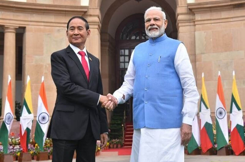 Myanmar President's State Visit to India
