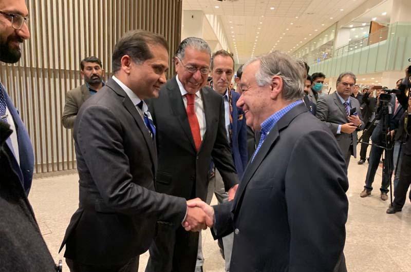 UN Secretary-General Antonio Guterres during his four-day Pak visit