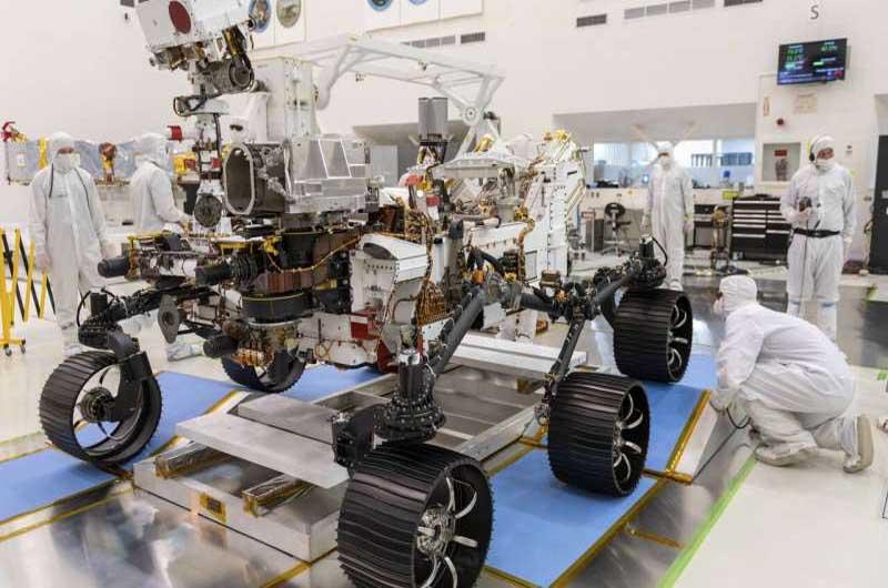 NASA Names its Next Mars Rover Perseverance