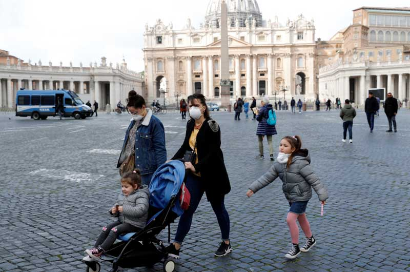 Vatican City Confirms its First Case of COVID-19.