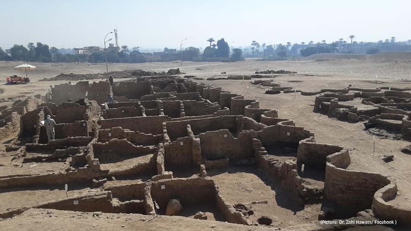 """Egypt's """"Lost Golden City"""" Found by Archaeologists"""